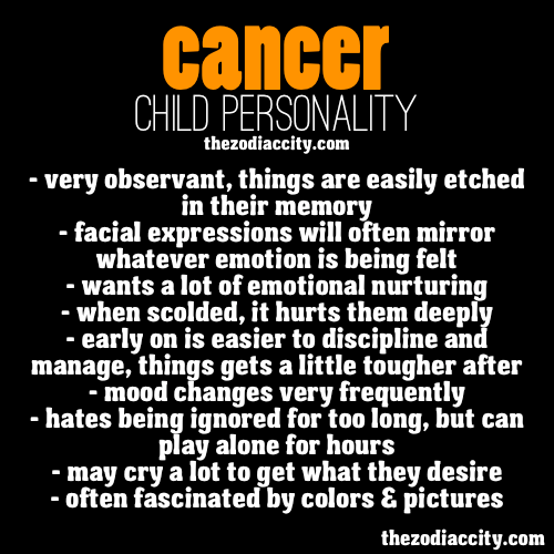 zodiaccity:  Cancer Child Personality.