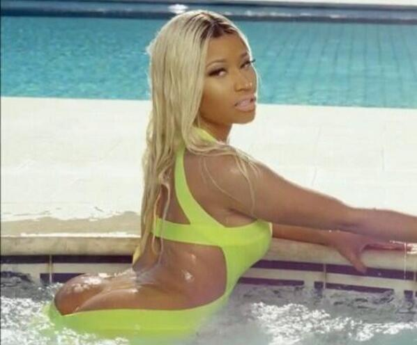 Nicki Minaj, Nicki Minaj - @NICKIMINAJ nah make it this one. #closeupcrackrealTness