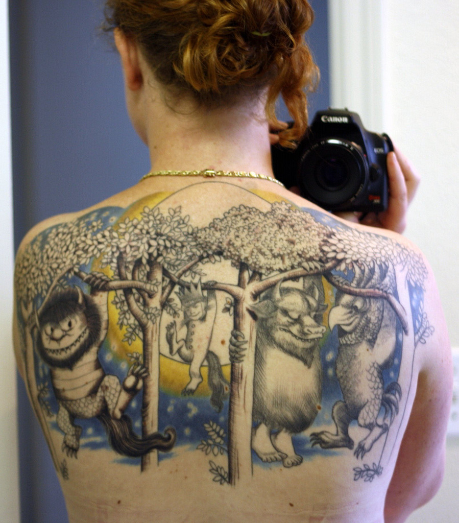 Where the Wild Things Are Tattoo (by Miss Grace)