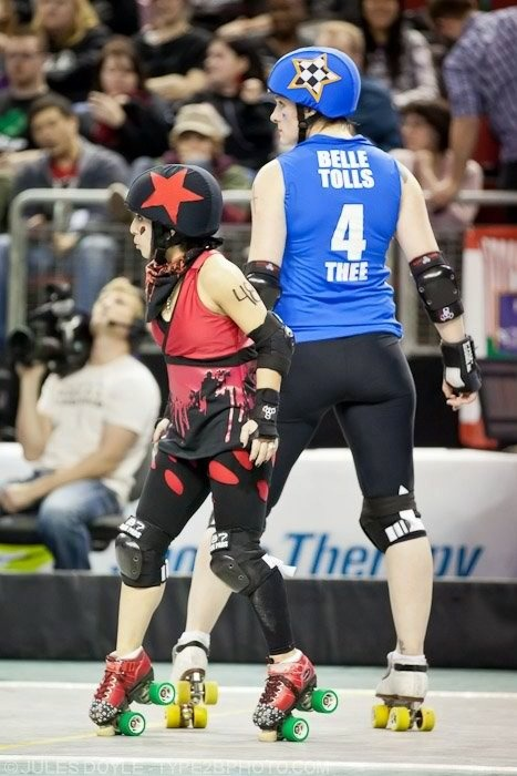 rollergirlrant:  Derby has all types!
