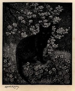 Lionel Lindsay. The Witch, 1924.