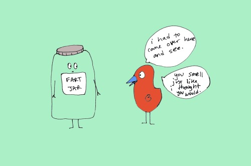 melikesyoucomics:  1072, fart jar