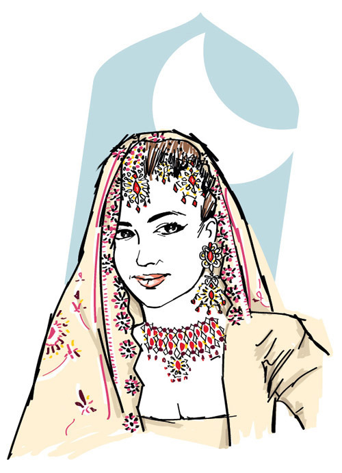 Mah Laqa Bai Chanda (1768-1824) Art by Henrico Leorne (tumblr) Mah Laqa Bai was a tawaif (courtesan) and a trusted adviser to the Nizam of Hyderabad.  She was appointed to the omarah (highest nobility) and  frequently consulted with the local rulers on government matters. Tawaifs were accomplished artists and Mah Laqa Bai is best known as the first significant female poet to write in Urdu.  In 1799, she gave a manuscript entitled Diwan e Chanda to a British captain.  Today this manuscript is housed in the British Museum.  Gulzar-e-Mahlaqa (Mahlaqa's flowers), a book of 39 Ghazals, was published soon after her death. A patron of the arts, Mah Laqa Bai endowed several shrines during her lifetime.  After her death, her wealth was distributed to homeless women.  Mah Laqa Bai's tomb in Hyderabad was restored in 2011.