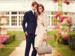 Ben Allen and Ophelie Rupp for Aquascutum SS13