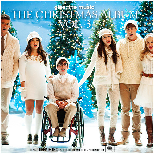 Glee: The Music, The Christmas Album Vol 3 Alternative Album Cover