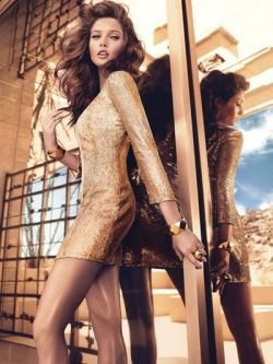 Sandrah Helberg by Hunti & Gatti for Marciano by Guess Fall/Winter 2012/2013  See more from this set here