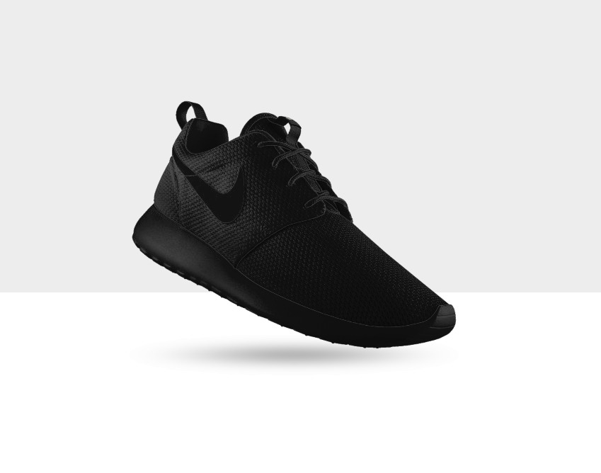 oh! easily shinobi style.      Roshe Run is up on Nike ID now.   go HAM
