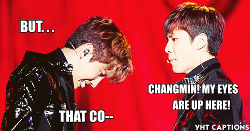 yoshitartarushumor-rofl-bot:  NC-17 EVEN CHANGMIN IS MESMERIZED BY IT. FANGIRLS WILL KNOW~~~  HAHAHAHAHAHAHAHAAAAAAAAAAAAAAA