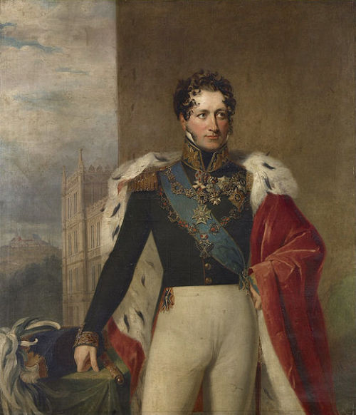 Ernest I, Duke of Saxe-Coburg and Gotha (1784-1844).  Father of Prince Albert of Saxe-Coburg and Gotha, Prince Consort to Queen Victoria.