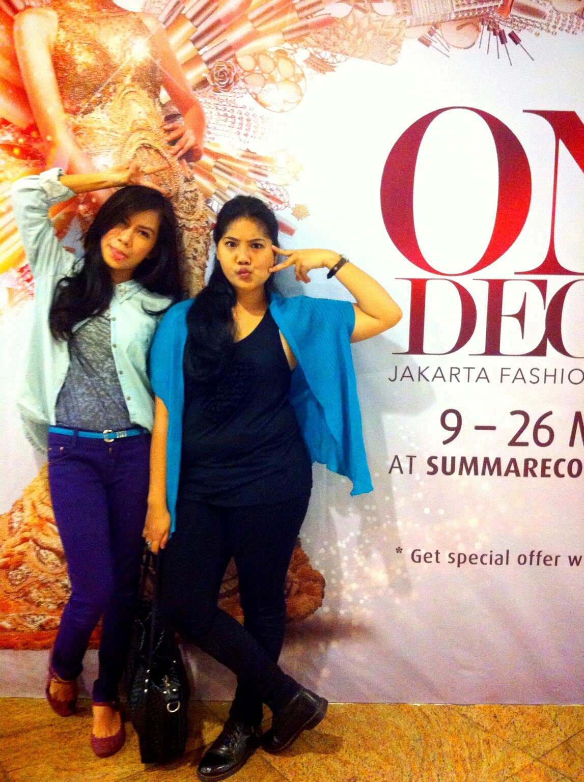 with rintan at Summarecon kelapa gading – View on Path.