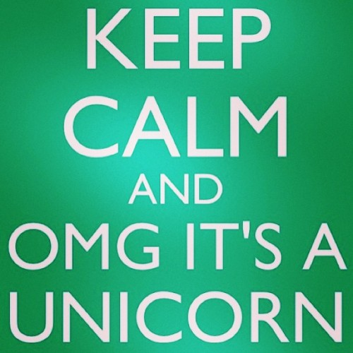 l1ttlesm1les45:  #keepcalm #unicorn #imagination #instagood #instamood #lovely #calm