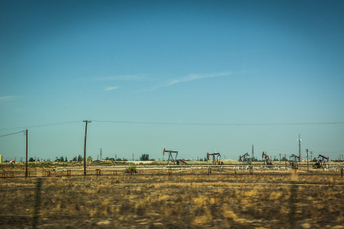 I took this photo driving by Rosadale HWY in Bakersfield. I just kept shooting out the window and loved this one.