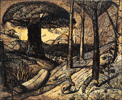 Samuel Palmer's Early Morning, 1825