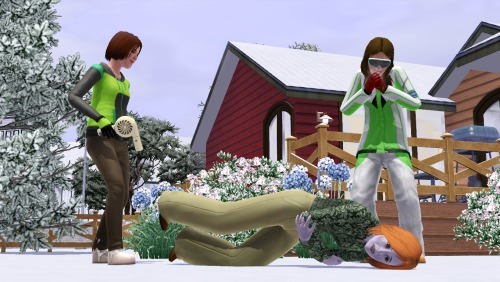 Stay warm this winter, Simmers! What fun way to stay warm than to get comfy, grab some hot cocoa, and play The Sims 3!
