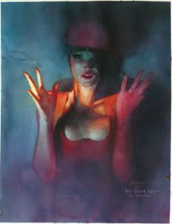 technochaun:  Elektra by Bill Seinkiewicz