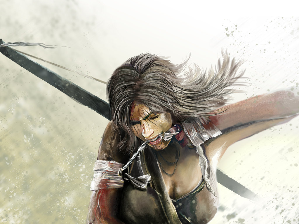 "tombraider:  Fanart: ""Survivor"" by Crosseyed-Chameleon"