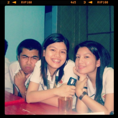 Hello y'all! @alyssakarminakeh and aphoglean! Carinderia college days! #throwbackthursday