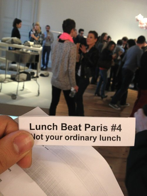 @micheldcv: #Lunchbeat @ #SI #Paris! http://t.co/s3yvMlzhlZ