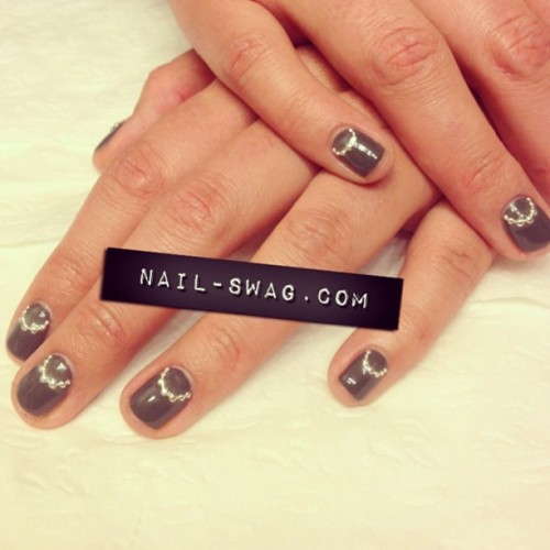 THE PEESH NAIL for @huggbuggbugg! #nailswag #nails #nailart #nailartclub #naillabo #swag #LA