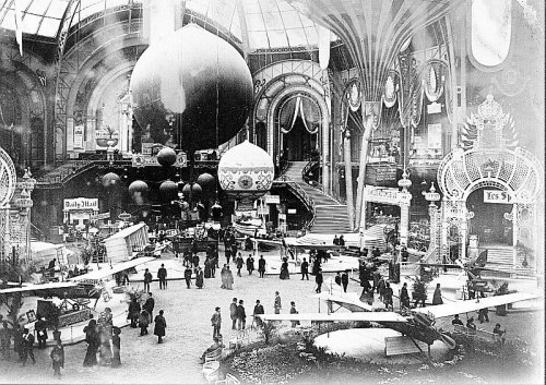 aurasalvaje:  Paris air show 1909