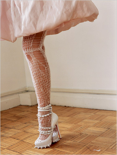 The Rodarte Christian Louboutins in white? Swoooon.