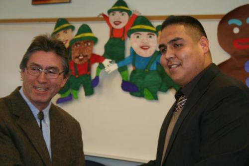 Tribal Rep Creates Scholarship, Makes Education a Priority When he was elected in June as the District 3 representative for the Leech Lake Band of Ojibwe, 30-year-old LeRoy Staples-Fairbanks III promised to make education a priority, and he's done just that by creating a scholarship.