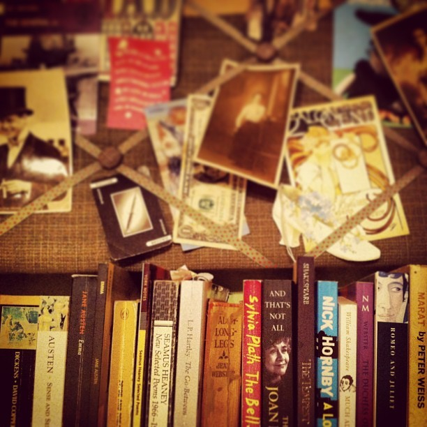 knowingalice:  My shelf.