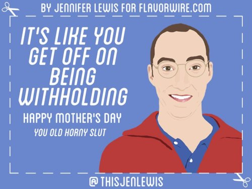Happy Mother's Day to all you moms. Check out these two hilarious card sets, one Arrested Development and one Mad Men.