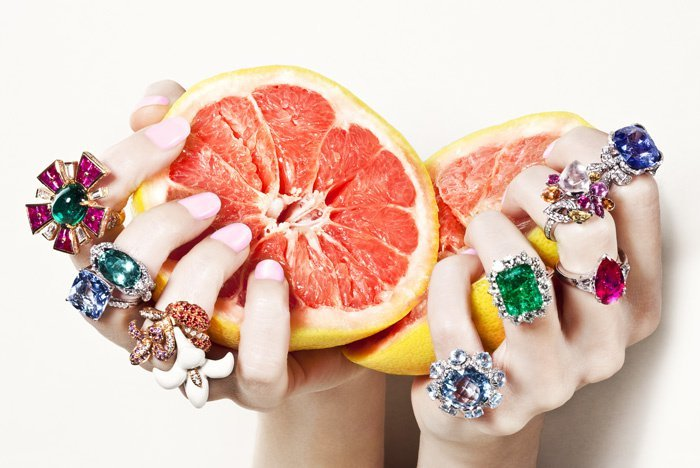 BAUBLE OF THE DAY Juicy jewels to make your skin glow