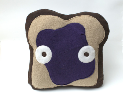 I feel about as apprehensive as this jelly toast pillow looks. Things in Boston are pretty stressful right now, but at least I can snuggle this thing! https://www.etsy.com/listing/129877150/jelly-toast-pillow-plush?ref=v1_other_2