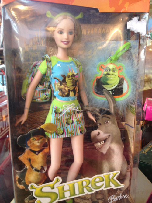 La Barbie… Shrek ?
