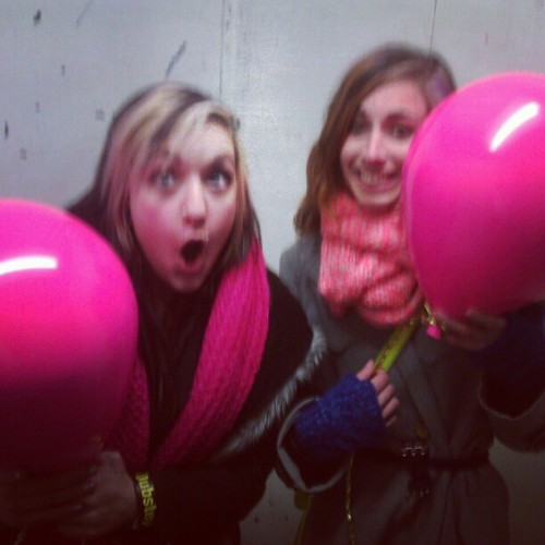 WE FOUND GIANT FAKE BALLOONS