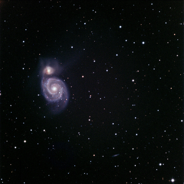 M51 by Tim Stone on Flickr.