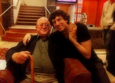 snowpatrol-and-thekillers:  Gary & his dad.  I love this pic <3