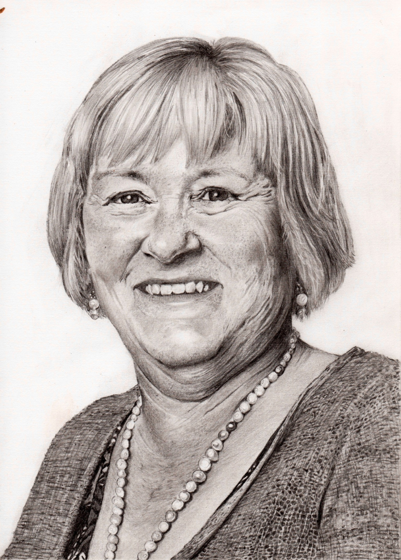 This is a commissioned portrait I did for someone using pencil
