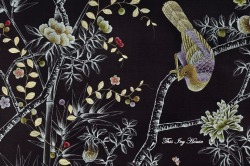 Scan of wallpaper [Fromental] to be used as embroidery design.