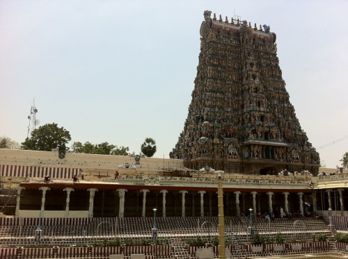 South Gopuram - Meenakshi Amman Temple, Madurai