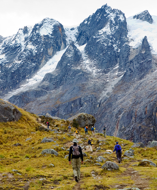 condenasttraveler:  The World's Best Hiking Trails | Santa Cruz Trek, Cordillera Blanca, Peru