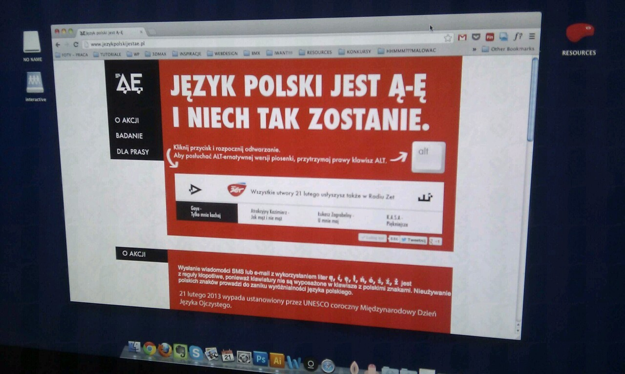 My website project for campain jezykpolskijestae.pl