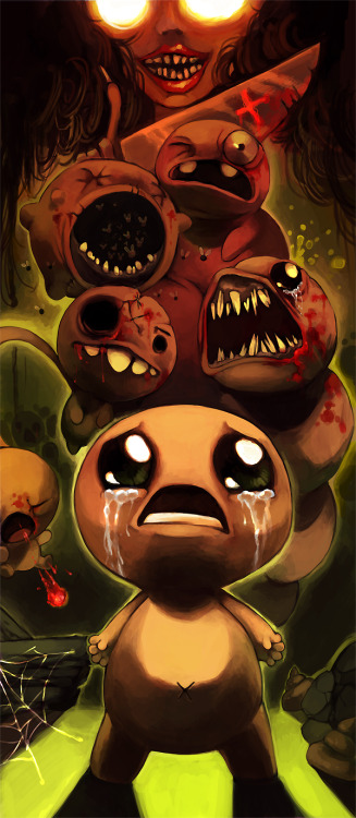 tahalika:  The binding of isaac by =Poketix  Ingbing of Disaac