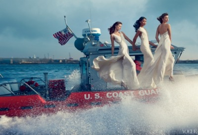 Karlie Kloss, Chanel Iman , and Kasia Struss for Vogue [Feb 2013] see more here…