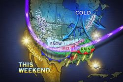 Major Storm Potential Palm Sunday Weekend  Another major storm has begun to cross the nation with areas of heavy snow, flooding rain and severe thunderstorms. The worst conditions with the storm may center over the Palm Sunday weekend.