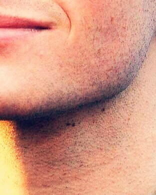 the (wow) chris colfer special +  stubble wow could u not