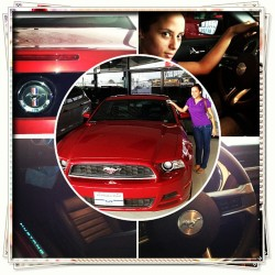 One day you will be mine #instacollage #my #love #first #view #mustang 😍💓💙💜💍