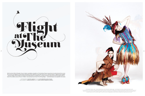 Flight at the Museum for Peppermint Magazine