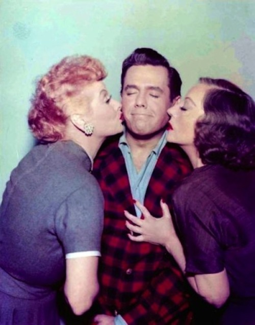 Lucille and Desi, with guest star Tallulah Bankhead ❤