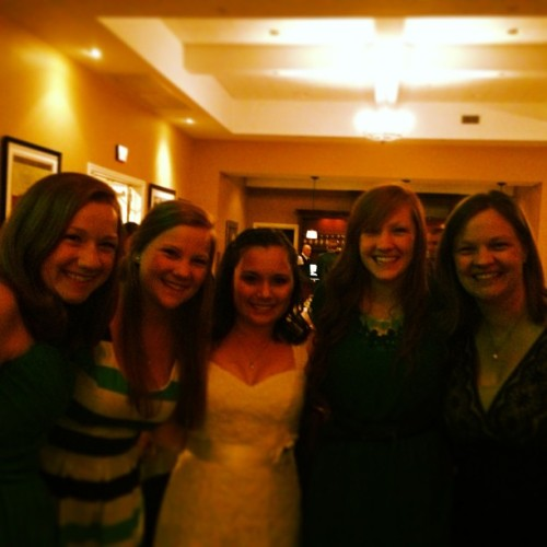 Beautiful wedding! So excited to call Kristi my sister! #lovethem #family #5sisters #5Jefferygirls #bestday #beautiful