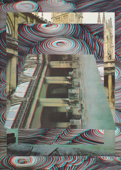 ≡ 3D (by Mowgli Omari) More anaglyph 3D collages this weekend. In response to a few questions, all work is cut physically from paper, nothing other than the gifs I make or the 3D effect is done digitally. I know not everyone has the glasses to view these so I hope that you can enjoy them without too. Let me know what you think of the work, and what else you would like to see more of. Dont be shy at all I would love some feedback from you guys.  Going be selling some mounted original collages too over the next month too so keep an eye out if you want an original work for a really good price!  Thanks everyone for all your support! ΛλOWGLI Tumblr | Flickr | Facebook
