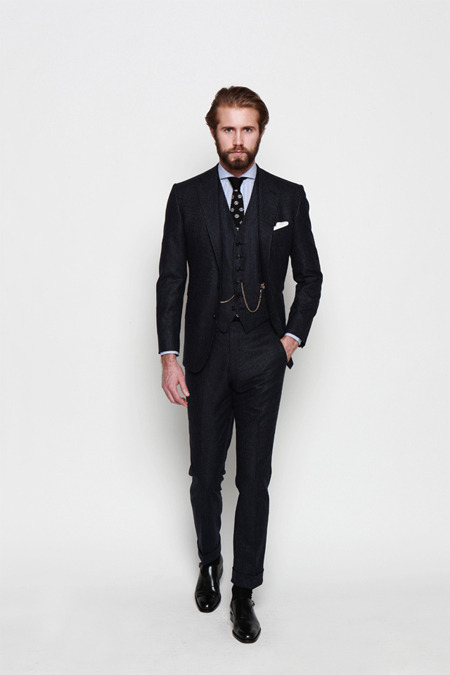 jhilla:  Tailored from Ovadia & Sons Fall 2013