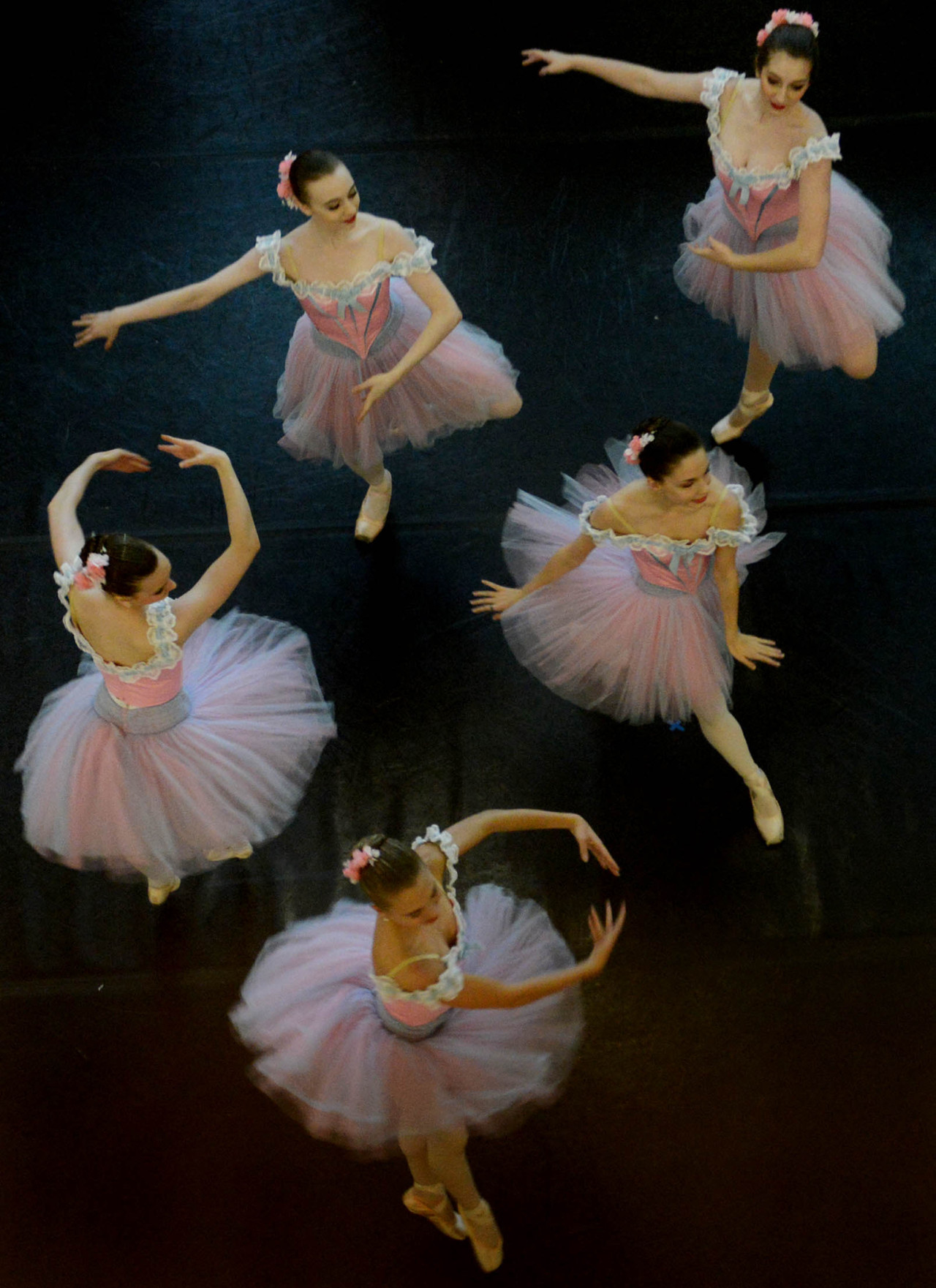"Pittsburgh Ballet Theatre School dancers perform portions of ""The Nutcracker"" for an audience of patients and family members at the Children's Hospital of Pittsburgh in Lawrenceville. -Michael Henninger/Post-Gazette Ballet students perform from 'Nutcracker' at Children's Hospital See more PG pictures in the Photos of the Day slideshow"